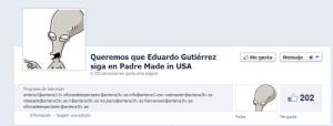 Petición Facebook
